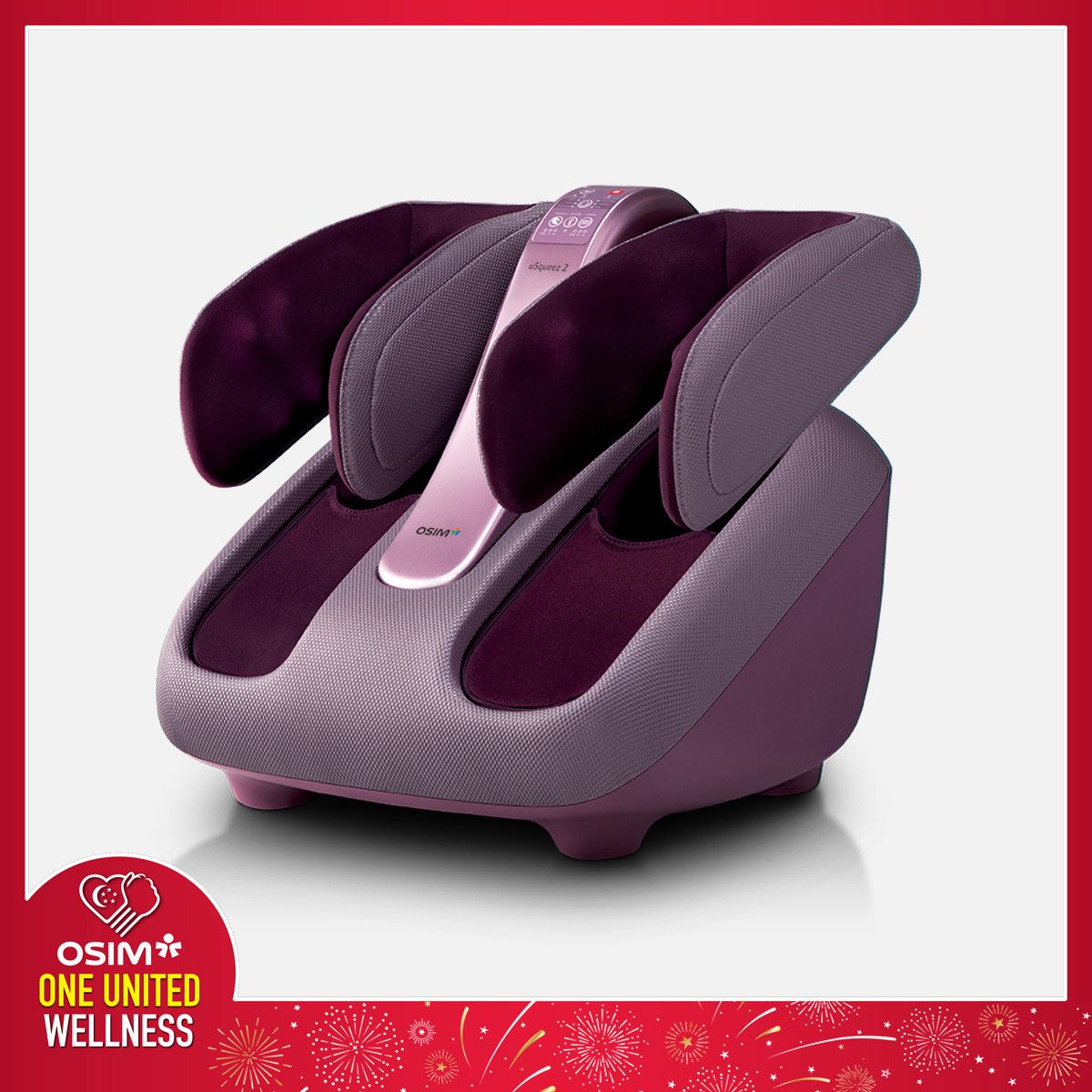 uSqueez 2 Leg Massager (Earliest Delivery: 18 Aug)