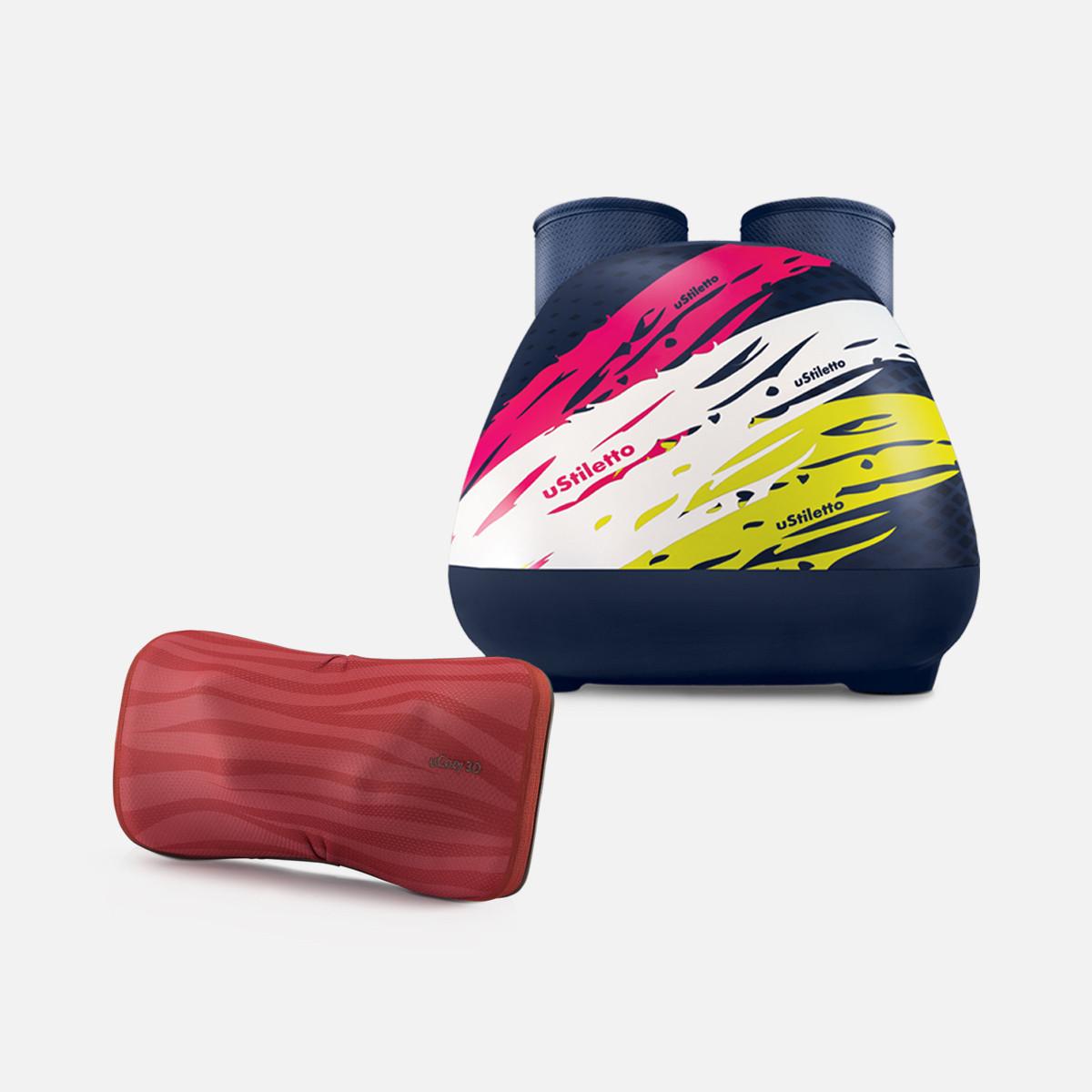 uCozy 3D (Stripe) + uStiletto (Sporty)