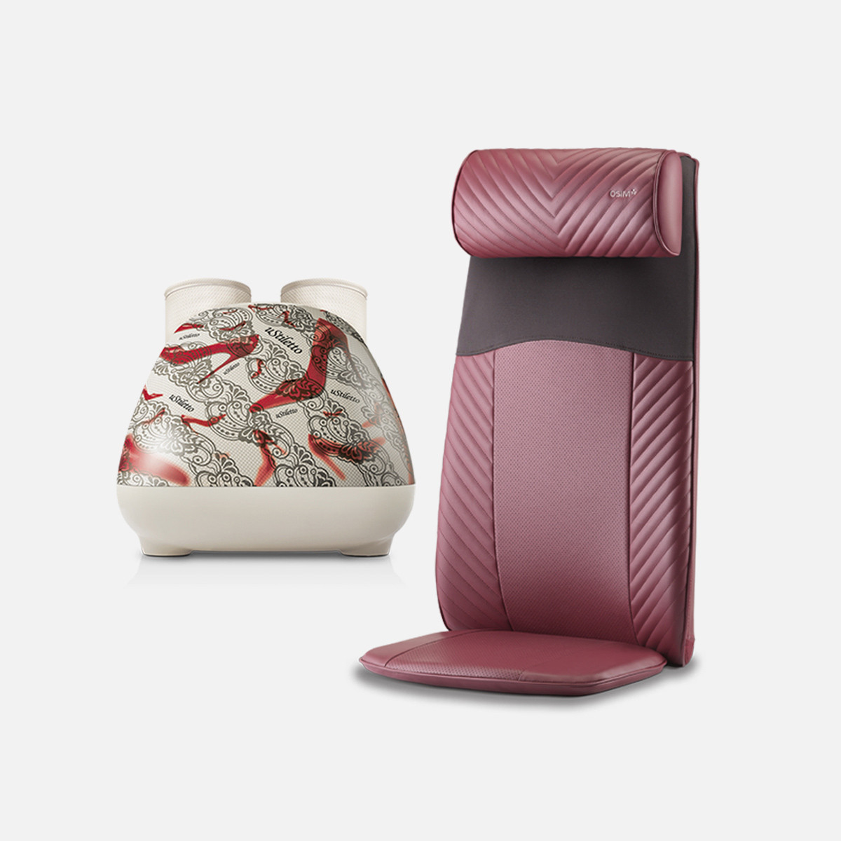 uStiletto (Elegant) + uJolly (Red)