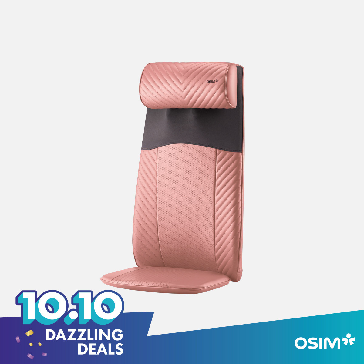 uJolly Back Massager (Peach)