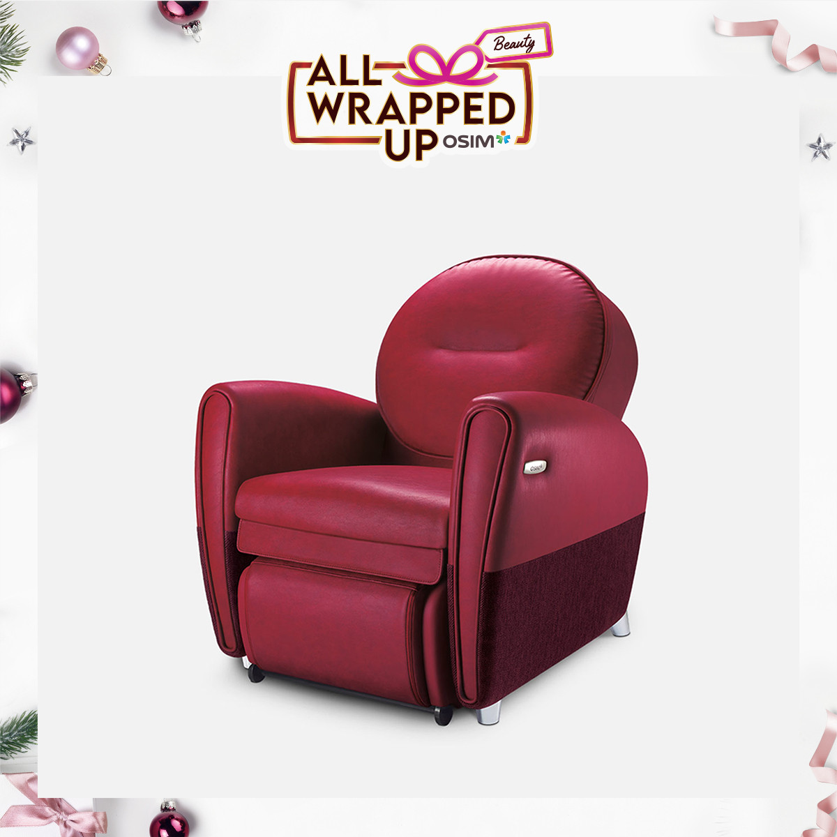 uDiva 2 Massage Sofa (New Colours)