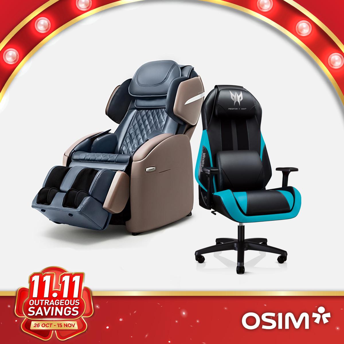 uNano Series + Predator Gaming Chair x OSIM