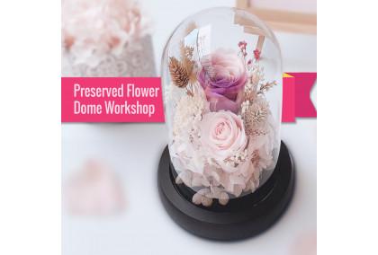 28 Sept,3-4.15pm-Preserved Flower Dome Workshop @ OSIM Jewel