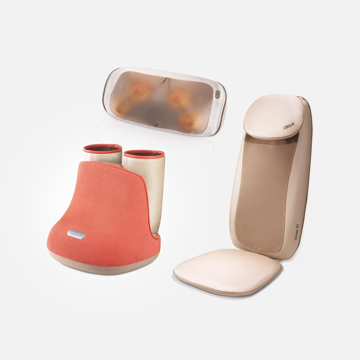 uCozy 3D + uCaress 3D + uSqueez Air Bundle