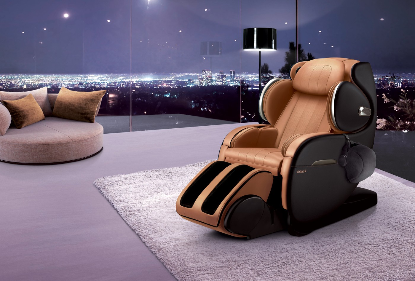 Massage Chair Uinfinity Luxe Osim Malaysia