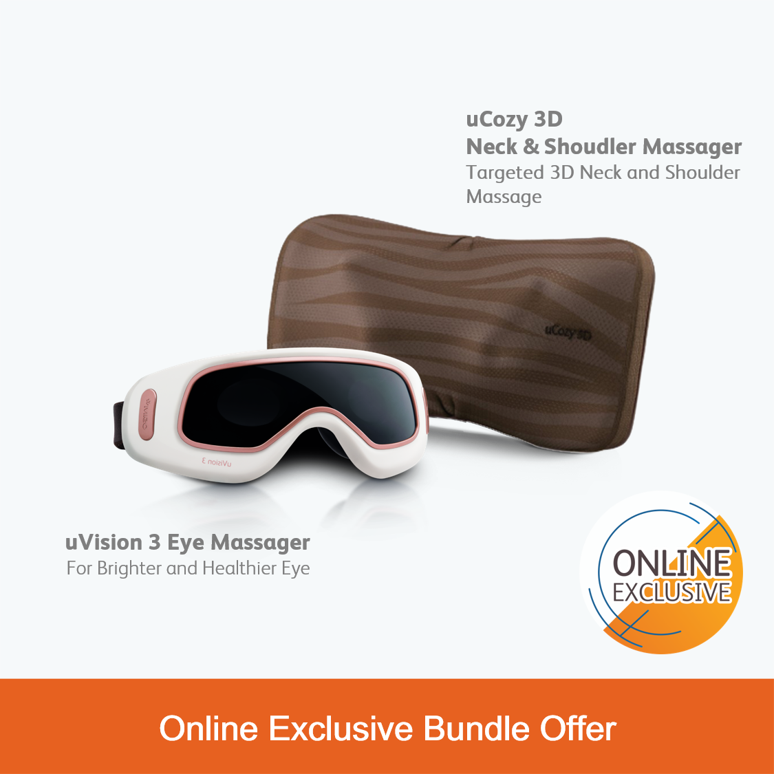 uVision 3 & uCozy 3D (Latte) Bundle Set