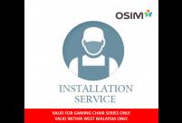 OSIM Gaming Chair Installation Fees