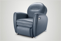 [Online Clearance] uDiva 2 Massage Sofa (Blue) - Last 2 Units Only!